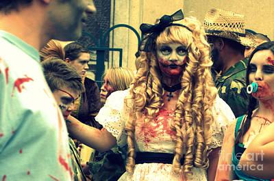 Photograph - Bo Peep Zombie by Anjanette Douglas