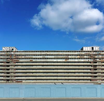 Boarded Up Photograph - Boarded Up High-rise Housing by Daniel Sambraus