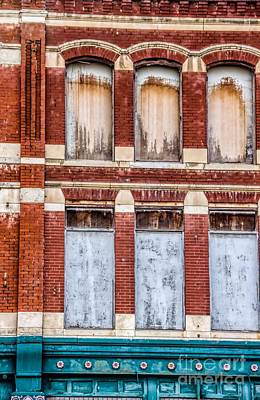 Photograph - Boarded Up by Jon Burch Photography