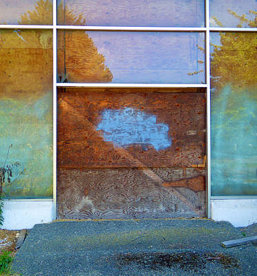 Photograph - Boarded Up by Laurie Tsemak