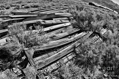 Photograph - Boards Of Bodie by Blake Richards