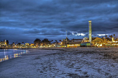 Santa Cruz Photograph - Boardwalk And Amusement 3 by SC Heffner