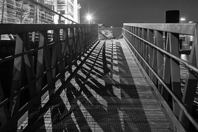 Nikki Vig Royalty-Free and Rights-Managed Images - Boardwalk at Night by Nikki Vig