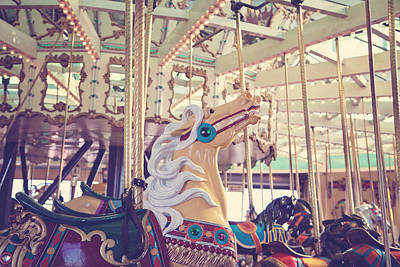 Photograph - Boardwalk Carousel by Melanie Alexandra Price