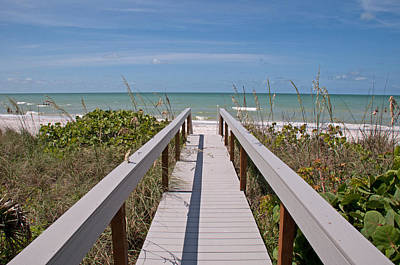 Photograph - Boardwalk De Sanibel by John Black