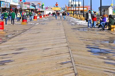 Boardwalk In The Spring Original by LMC Photography Lisa Cifaretto