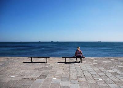Photograph - Boardwalk by Luis Esteves