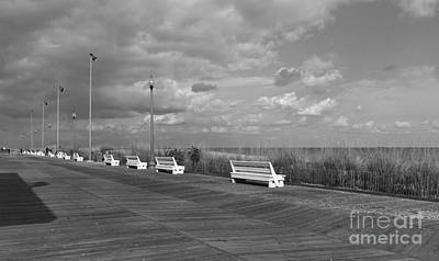 Boardwalk Memories Art Print by Arlene Carmel
