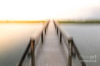Digital Art - Boardwalk by Susan Cole Kelly Impressions