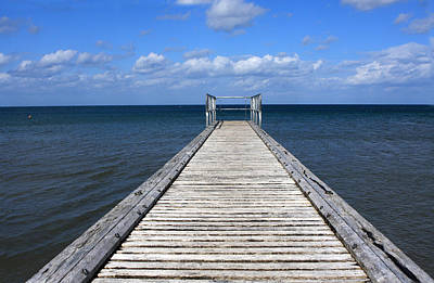 Photograph - Boardwalk To The Ocean by Aidan Moran