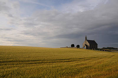 Art Print featuring the photograph Boarhills Church by Jeremy Voisey