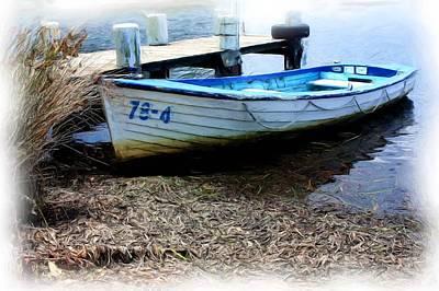Boat 78-4 Art Print by Ian  Ramsay