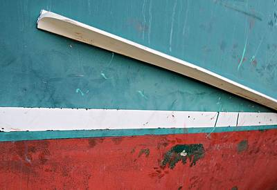 Photograph - Boat Abstract #1 by Diana Angstadt