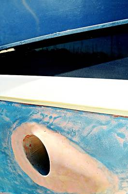 Photograph - Boat Abstract #13 by Diana Angstadt
