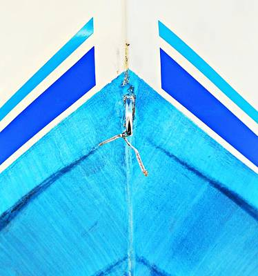 Photograph - Boat Abstract #14 by Diana Angstadt