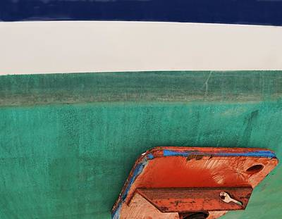 Photograph - Boat Abstract #4 by Diana Angstadt