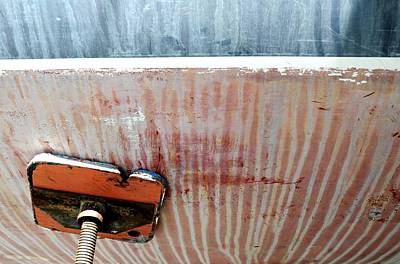 Photograph - Boat Abstract #5 by Diana Angstadt
