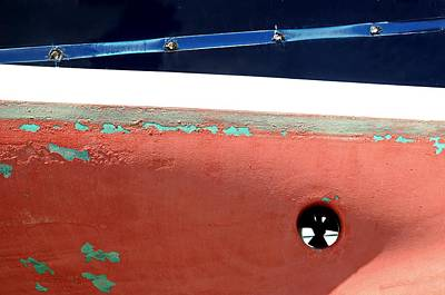 Photograph - Boat Abstract #6 by Diana Angstadt