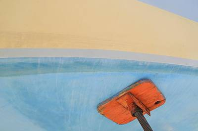 Photograph - Boat Abstract #7 by Diana Angstadt