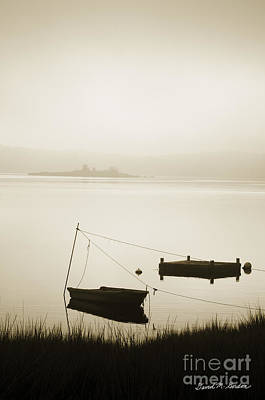 Photograph - Boat And Dock Taunton River by David Gordon