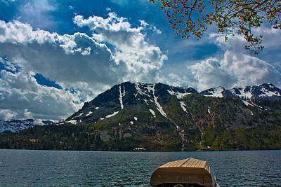 Photograph - Boat And Lake In Northern California  by John McGraw