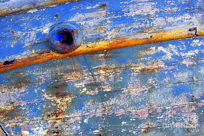 Photograph - Boat Blue by A K Dayton
