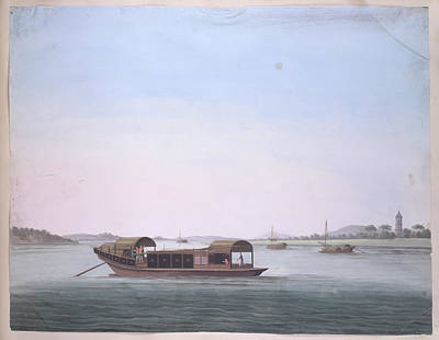Illustration Technique Photograph - Boat by British Library