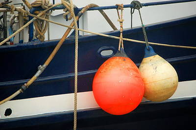 Photograph - Boat Buoy X 2 by Tamyra Crossley