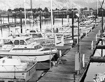 Photograph - Boat Charter Row by HW Kateley
