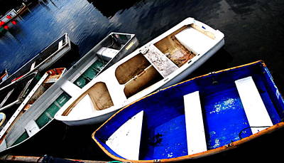 Photograph - Boat Collection - Rockport by Jacqueline M Lewis