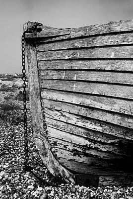 Fishing Boat Photograph - Boat Detail by Mark Rogan
