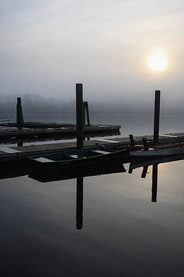 Photograph - Boat Dock Sunrise 2 by Gregory Alan