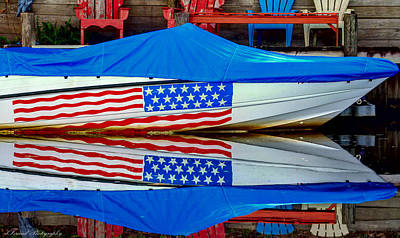 Beers On Tap - Boat For Freedom  by Debra Forand