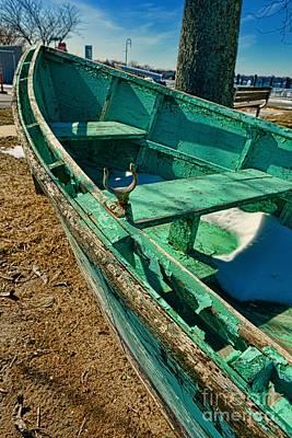 Boat - Forever Dry Docked Art Print