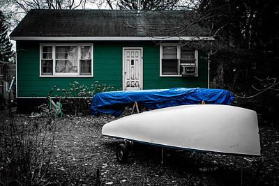 Photograph - Boat House by Milan Kalkan