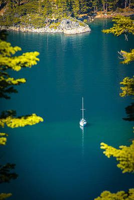 Photograph - Boat In A Lake by Celso Diniz