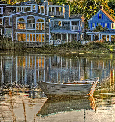 Photograph - Boat In Late Afternoon by Phyllis Meinke