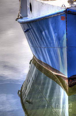 Boat In Leland Art Print by Twenty Two North Photography