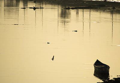 Photograph - Boat In The Water by Rajiv Chopra