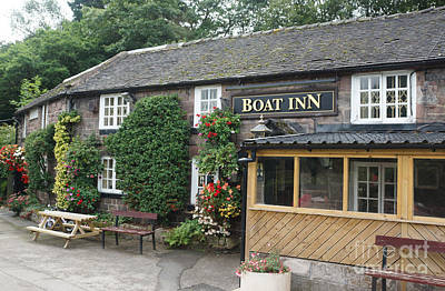 Photograph - Boat Inn At Cheddleton by David Birchall