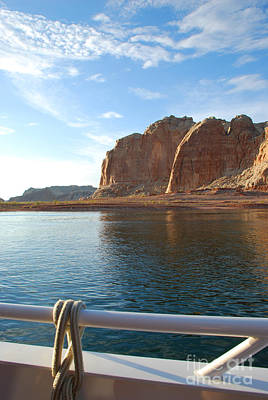 Photograph - Boat Lake Powell by Kate Sumners