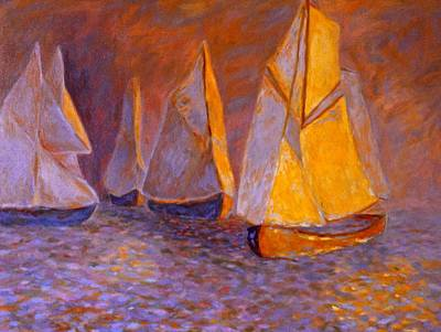Painting - Boat Light by Kendall Kessler