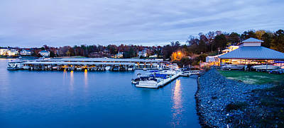 Lake Wylie Photograph - Boat Marina On Lake Wylie In North Carolina  by Alex Grichenko