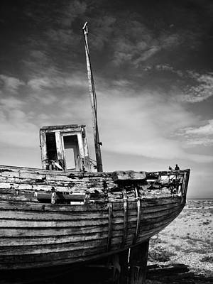 Boat Art Print by Mark Rogan