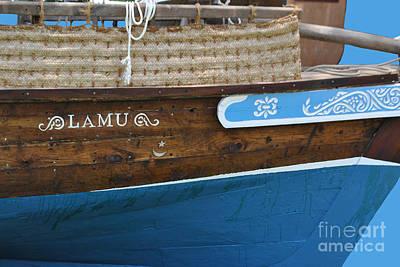 Shark Art - Boat of Lamu by Jost Houk