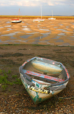 Photograph - Boat Of Many Colours by David Birchall