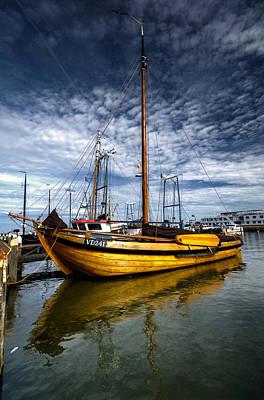 Photograph - Boat by Oleksandr Maistrenko