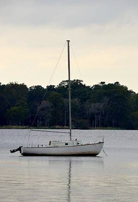 Photograph - Boat On Calm Waters by Richard Bryce and Family