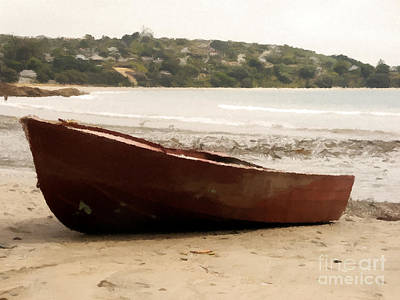 Food And Flowers Still Life - Boat on shore 02 by Pixel Chimp