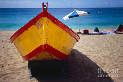 Aguadilla Photograph - Boat On The Beach by George Oze